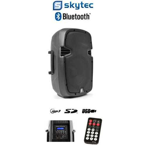 """Επαγγελματ. Αυτοενισχ. 10"""" 400 Watt Max με USB, SD, MP3, Bluetooth, ΤΜΧ"""